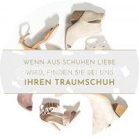 Rund   Traumschuhe Plakat   Werbetafel für Schuhläden   Rundformat