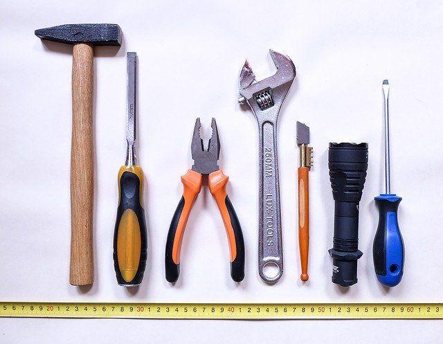 Werkzeuge als Reisewerbeartikel
