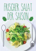 Frischer Salat Poster | Werbetafel für deinen Imbiss