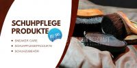 2:1 | Schuhpflege Produkte Werbetafel | Plakat auch in DIN A 2 | 2 zu 1 Format