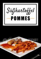 Süßkartoffel Pommes Poster | Plakat auch in DIN A 3