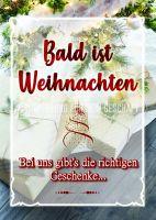 Bald ist Weihnachten Poster