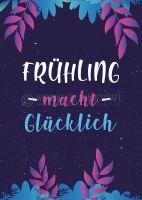 Frühling Plakatwerbung | Poster