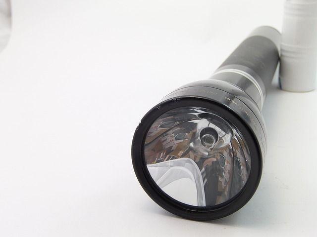 Taschenlampe am Schlüsselbund