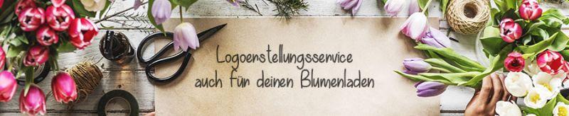 Logoerstellungsservice für Blumenladen