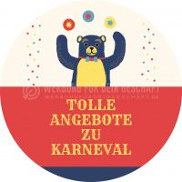 Rund | Tolle Angebote zu Karneval Plakat | Poster kaufen | Rundformat