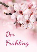 Der Frühling Werbeschild | Werbeposter für Plakatständer