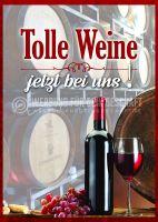 Tolle Weine Plakat | Werbeplakat für Wein