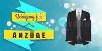 2:1 | Reinigung für Anzüge Plakat | Werbung für Plakatständer | 2 zu 1 Format