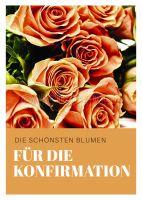 Blumen für die Konfirmation Poster | für Plakatständer
