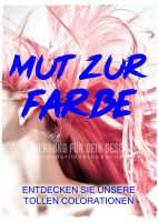 Mut zur Farbe Poster