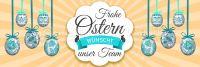 3:1 | Frohe Ostern wünscht unser Team Plakat | Werbung | 3 zu 1 Format