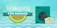 2:1 | Reinigung für Sakkos Plakatwerbung | Poster auch in DIN A 0 | 2 zu 1 Format