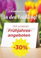 Frühjahrsangebote Werbeschild | Poster kaufen