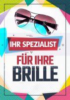 Ihr Spezialist für Ihre Brille Plakat | Brillenspezialist