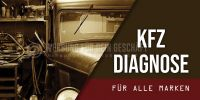 2:1 | KFZ Diagnose für alle Marken Poster | Werbung für Plakatständer | 2 zu 1 Format