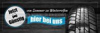 3:1 | Von Sommer zu Winterreifen Plakat | Werbeplakat für Autohaus | 3 zu 1 Format
