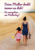 Muttertag Poster | Werbeschild für Muttertag
