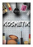 Kosmetik Werbebanner | Kosmetikposter auch für Plakatständer
