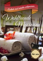 Wohltuende Massagen Poster | Endlich mal wieder entspannen