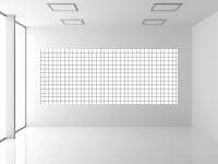 Whiteboardfolie Kästchen