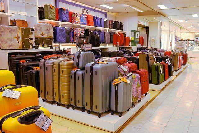 Koffer und Taschen können optimal mit Werbung bedruckt werden