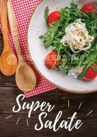 Super Salate Poster | Werbetafel für dein Geschäft