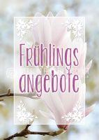 Frühlingsangebote Poster | Werbeposter für den Frühling