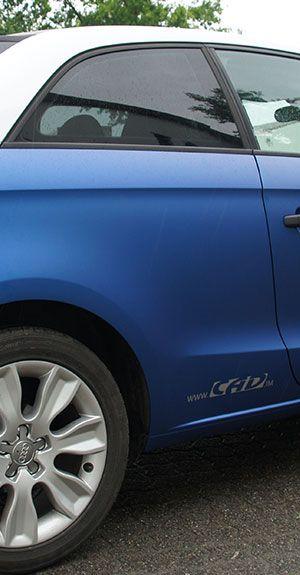 Folierung eines Audi A1