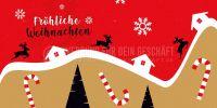2:1   Fröhliche Weihnachten Plakatwerbung   Poster kaufen   2 zu 1 Format