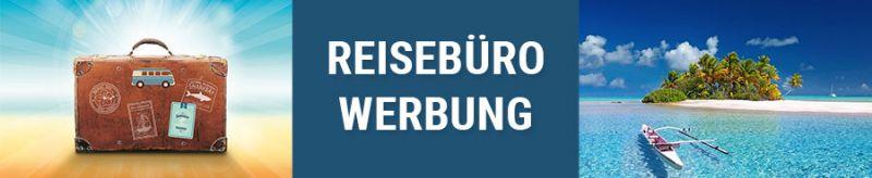 Banner für Reisebüro