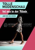Tolle Modenschau Poster | Werbebanner für Geschäfte