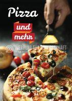 Pizza und mehr Werbeposter   Plakat online drucken