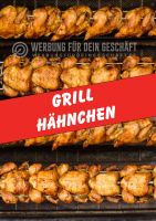 Grill Hähnchen Plakat