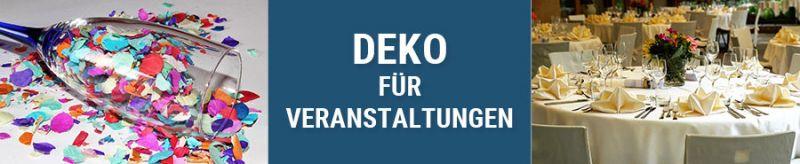 Banner Deko für Veranstaltungen