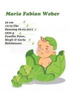 Willkommen Baby Junge Plakat | Werbebanner