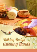 Talking Bodys Poster | Werbeposter für Massagen