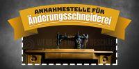 2:1 | Änderungsschneiderei Plakat | Werbebanner für Schneiderei | 2 zu 1 Format
