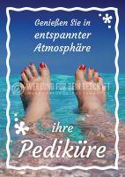 Ihre Pediküre Werbeposter | Plakate online drucken