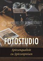 Fotostudio Plakat | Plakatwerbung für Fotostudios