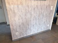 Matte Wandschutzfolie in der Anwendung
