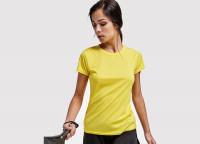 Sport T-Shirt Frauen inkl. einfarbigem Druck