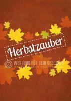 Herbstzauber Poster | Werbebanner für Herbst