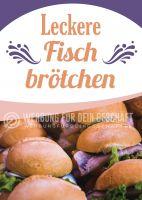 Leckere Fischbrötchen Poster