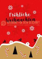 Fröhliche Weihnachten Plakatwerbung | Poster kaufen