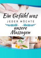 Ein Gefühl was jeder möchte Plakat | Werbeplakat für Massagen