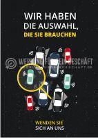 Wir haben die Auswahl, die Sie brauchen Werbeschild für Autohändler
