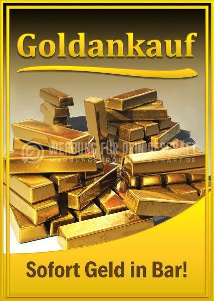 Goldankauf Plakat