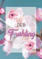 Der Frühling Poster | Werbeschild für den Frühling