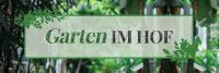3:1 | Garten im Hof Hinweisschild | Poster | 3 zu 1 Format